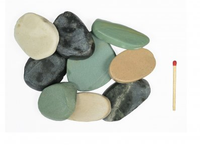 Flat Pebble multicolor 3-6 cm
