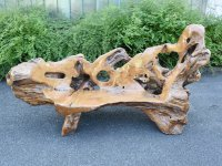 Bench 2 seater of teak (single p...
