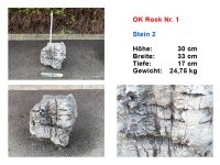OK Rock Nr. 1 - showpiece Nr. 2