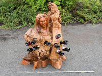 Teak Furniture - wine rack Mary ...